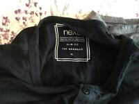 Four Next grandad style t-shirts XL