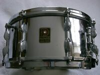 Premier Dominion Ace COB snare drum - 14 x 6 1/2 - England - Modded