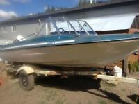 1987 Vanguard Gemini 16' boat for sale