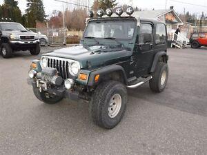 2001 Jeep TJ Sport Prince George British Columbia image 3