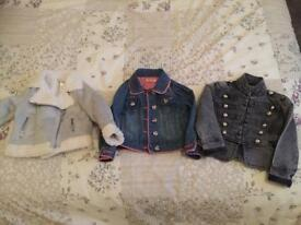 Girls coats 2-3 years