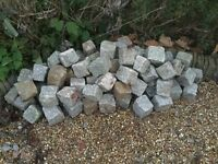 Stone Cubes for borders or paving