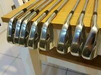 TaylorMade Forged MB Golf Irons with upgraded Projext X 6.5 shafts