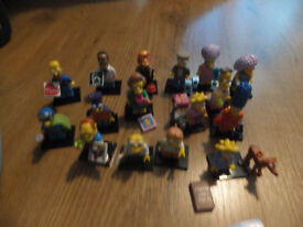 lego simpson series 1 and 2 ex condition