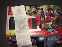 Nintendo Switch bundle with 4 games & duo racing pack