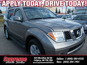 2006 Nissan Pathfinder LE H.SEATS/ROOF/7PASS/NEWTIRES