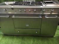 Lacanche citeaux range cooker double oven stainless steel inc vat