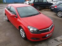 2006 Vauxhall Astra COUPE 1.4 i 16v SXi 3dr RED NEW MOT-26/04/2019 ** SERVICED**