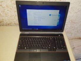 Dell Latitude E6520 15.6'' screen, cpu- i7, 8GB ddr3 ram, 500GB SSHD drive