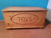 Solid Pine Toybox