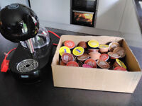 """Nescafe Dolce Gusto Stelia """"touch to create"""" Automatic coffee/drinks machine + loads of drinks pods."""
