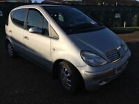 Mercedes A170 CDI 1689cc Turbo Diesel Automatic 5 door hatchback 52 Plate 20/01/2003 Silver