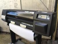 Large format printer HP design jet 1050C
