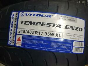 Vitour Tempesta Enzo R-Compound tire Pre Season SPECIAL