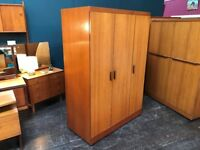 Quadrille Large Wardrobe by G Plan. Retro Vintage Mid Century