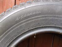 All weather/Winter van tyres x 2 195/70R14 91T