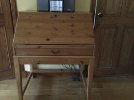IKEA's wooden desk