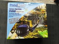 PondKraft 10000 Eco Filter Pump Pond Koi Fish Brand New Cheap to Run