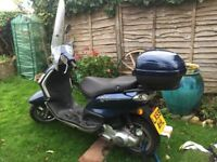 Low mileage scooter in great condition