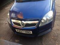 Quick sale Vauxhall zafira 1.6 petrol with Ac
