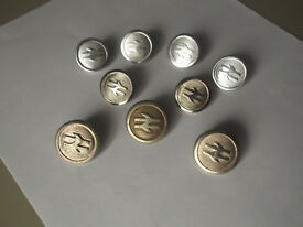 British Rail Inter City Coat Buttons
