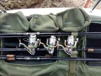 Shimano fishing reels x3 shimano 5500 fishing reels in new condition