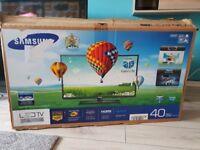 40 Inch Samsung 3d Led TV UE40EH6030