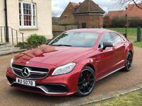Mercedes CLS 63 S 5.5 BI-Turbo 2015 Red Saloon AMG Sports Petrol Benz CLS63