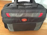 Lap top bag Hardly used great condition for full size lap top and room two pockets