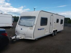 bailey ranger 620/6 twin axle caravan 6 berth