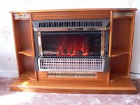 Suncrest Free Standing Electric Fire With Built In Surround