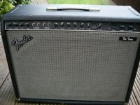 "fender 'The Twin' all valve electric guitar amplifier - 100 watt 2 x 12"" Twin reverb. USA - '80s"