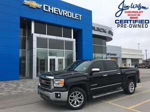 2014 GMC Sierra 1500 SLT 5.3L V8 4X4 NAV LEATHER CHROMES ONE OWN
