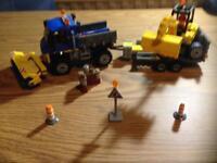 Lego Road sweeper / Digger