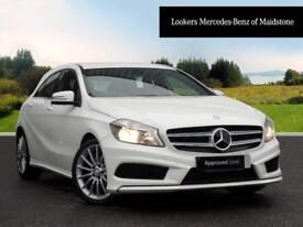 Mercedes-Benz A Class A180 CDI BLUEEFFICIENCY AMG SPORT (white) 2015-03-31