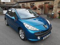 Peugeot 207 SE Premium 1.6HDi. £30 a year road tax, Full Service History, MOT 24-03-19