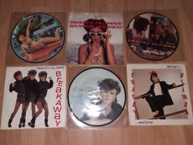6 x tracy Ullman picture disc/ singles