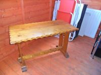SMALL PINE TABLE IDEAL UPCYCLE PROJECT