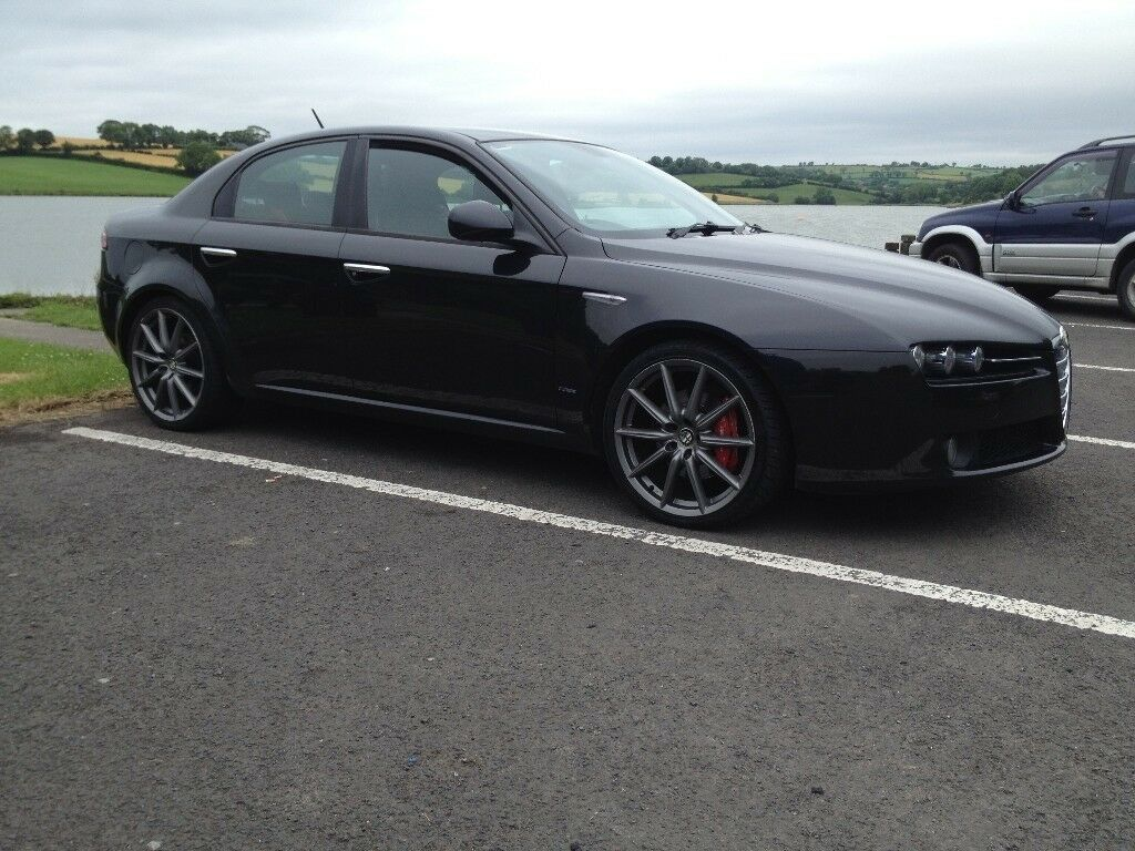 2009 Black Alfa Romeo 159 19 JTDm Limited Edition