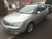 2005 05 REG FORD MONDEO SILVER 2.0 TDCI TURBO DIESEL F.S.H