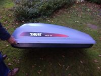 Car roof box thule polar 100 in perfect condition