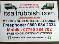 Rubbish Collection 07790 384 702 House Clearance Waste Removal in Teddington,London