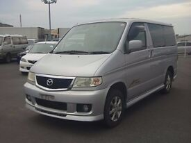 Mazda Bongo direct import from Japan supplied fully UK reg, many more en route, contact Algys Autos.