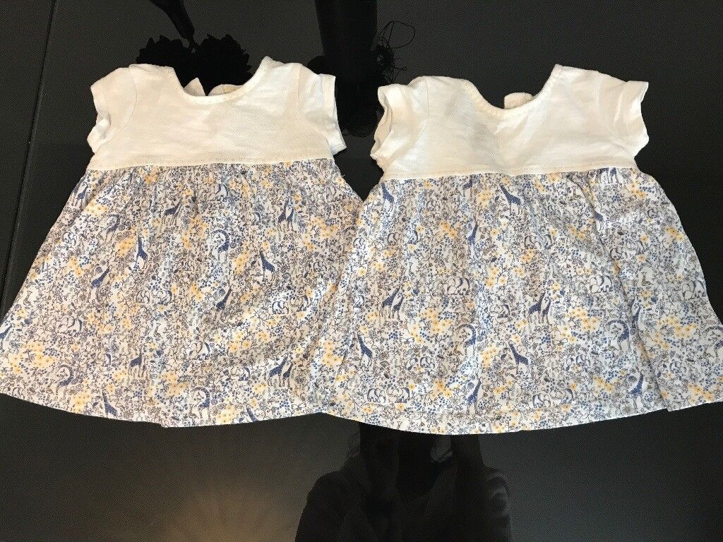 Baby girl 0-3 month Next dresses