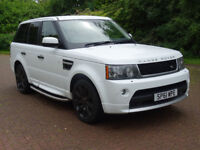 LAND ROVER RANGE ROVER SPORT 3.0 TDV6 STORMER EDITION 5d AUTO 245 BHP LAND ROVER WARRANTY ++