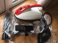 Polti steamer with all accessories. Like new RRP £125