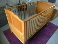 Mothercare cot bed nursery baby toddler
