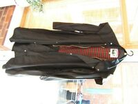 COUNTRY WEAR LONG WAX RIDING COAT