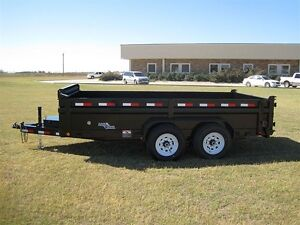 2016 Load Trail Tandem Axle Low-Pro Dump Trailer - $144/month London Ontario image 3