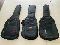 4x Acoustic Guitar Cases / Gig Bags - Bundle